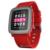 Photo Pebble Time (Red)